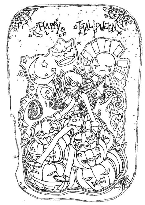 halloween happy birthday coloring pages coloriage adulte halloween happy halloween 9