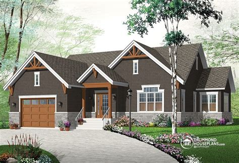 new craftsman inspired bungalow house plan 3260 v3 by