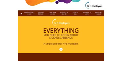 sickness absence tool help us to spread the word nhs