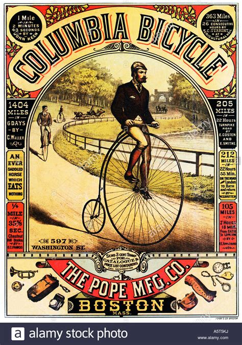 Cyling Vintage Humour Poster Free Stock Photo Public Domain Pictures Columbia Bicycle 1886 Poster For The Penny Farthing Made