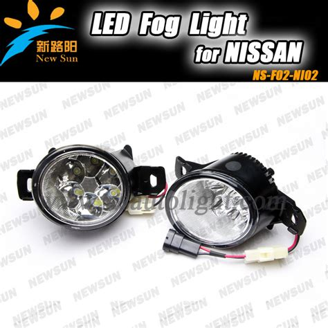 car specific led fog light for nissan livina march teana