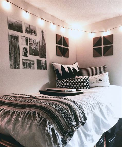 cool room ideas for college guys black white wrapped 10 super stylish dorm room ideas home design and interior