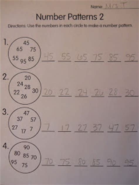 pattern for decimal numbers in html mrs t s first grade class number patterns