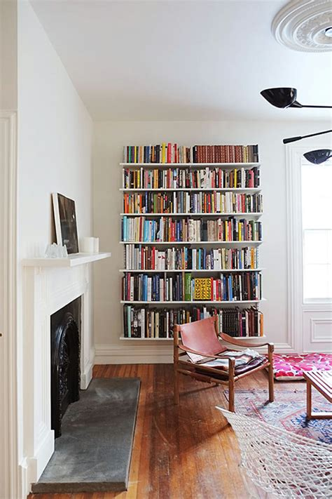 bookshelves living room 6 creative ideas to decorate your blank wall modernize