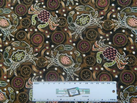 Patchwork And Quilting Fabric - patchwork quilting sewing fabric mud crabs