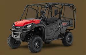 Pioneer Honda 2016 Honda Pioneer 1000 Color Options Honda Pioneer Forum