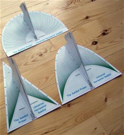 How To Make A Sundial Out Of Paper - the sundial primer day u sundial kits