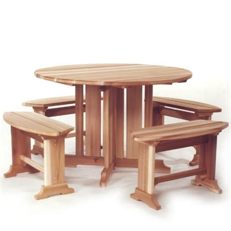 patio picnic bench table set cedar adirondack outdoor chairs tables and patio furniture sets picnic table set