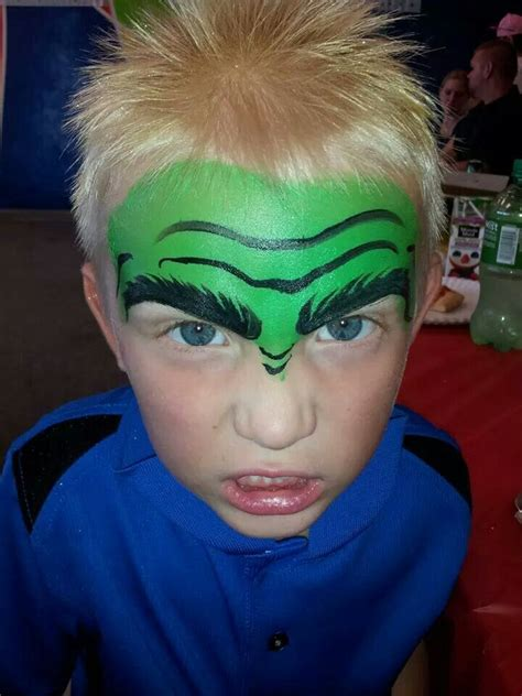 The gallery for --> Face Paint For Boys Spiderman