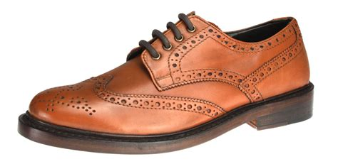 benchgrade 1920 mens brown all leather handmade welted
