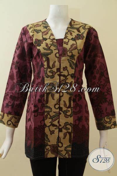 Batik Atasan 96 by Atasan Batik Kerja Terbaru Cantik Dan Trendy