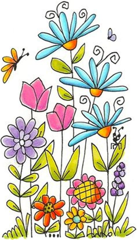flower garden drawings 1000 images about my curtain project on stick figures illustrations and doodles