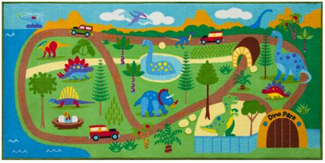 play area rugs dinosaur park play area rug large 80 quot x 39 quot