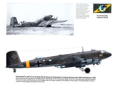 fw 200 condor units 1472812670 focke wulf fw 200 c 3 quot f8 fw quot del 12 erg kg 40 basato a chateaudun francia nel tardo 1942