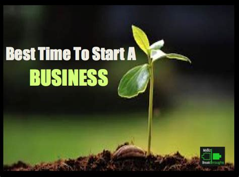 When Is The Best Time To Start A Vegetable Garden Best Time To Start A Business Mybizbreakthroughs