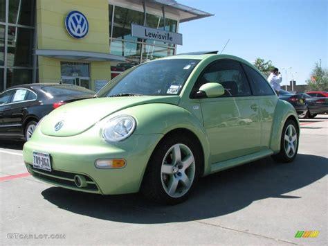 green volkswagen 2003 cyber green metallic volkswagen beetle gls 1 8t