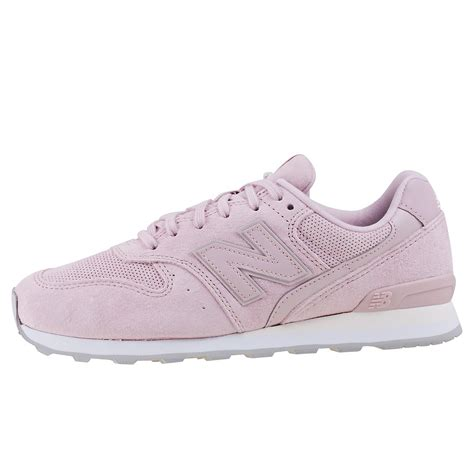 light pink new balance new balance wr996 sport style womens trainers in light pink