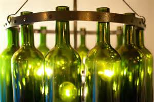 Wine Bottles Chandelier 18 Bordeaux Wine Bottle Chandelier Emerald By Rainvilledesigns