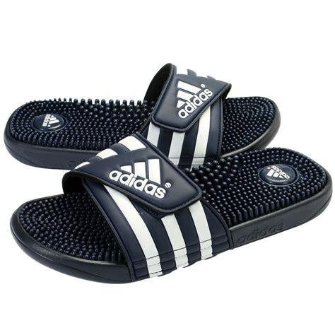 addidas slippers for adidas 078261 adissage slides navy white heath