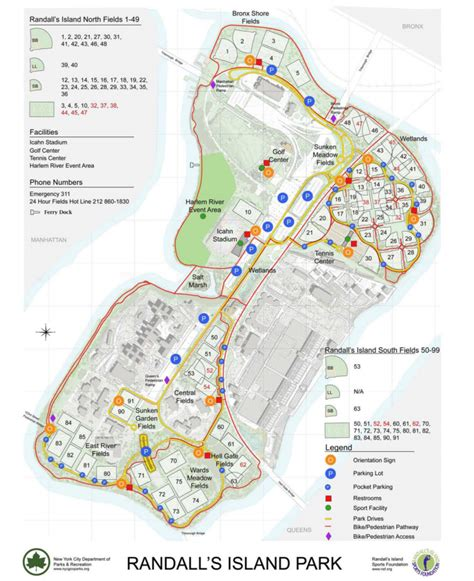 randall s island field map randall s island map jacademy