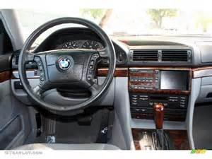 2000 bmw 7 series 740il sedan grey dashboard photo