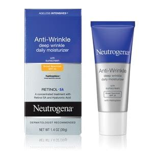 Facts Sunscreen Beats Moisturizer For Wrinkles by Neutrogena Anti Wrinkle Wrinkle Daily Moisturizer Spf