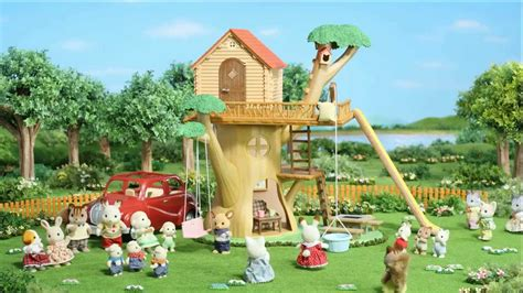 Sylfanian Tree House sylvanian families tree house