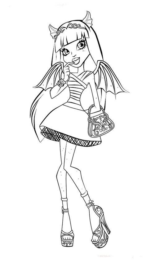 coloring pages of monster high characters monster high character coloring pages best coloring