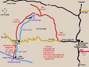where is creek arizona on a map the arizona project fossil creek 1