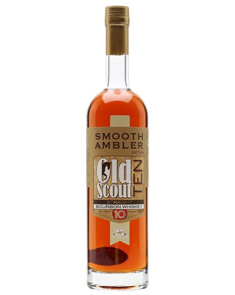 smooth ambler old scout bourbon smooth ambler old scout 10 year old 100 proof straight