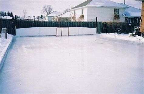 Diy Backyard Rink by How To Build A Backyard Hockey Rink