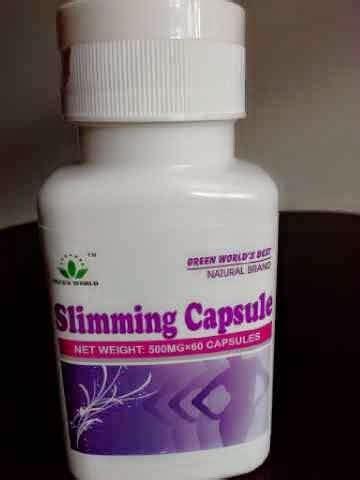 Slimming Capsule Green World Herbal Pelangsing obat pelangsing perut obat pelangsing perut obat
