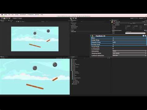 unity engine tutorial 2d unity 2d physics overview