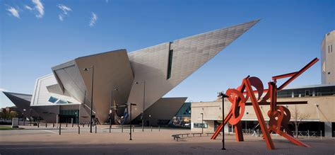 denver architects bold contemporary design the denver museum by daniel