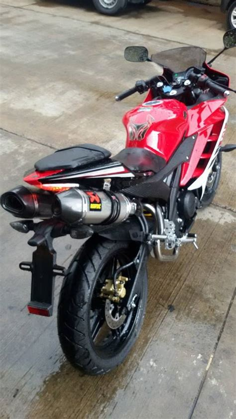 Muffler Termignoni For Yamaha Xabre Or R15 ajib keren mega galeri yzf r15 pasang exhaust knalpot akrapovic aripitstop