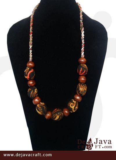 Kalung Etnik Unik Cakar Kl030 1 kalung batik motif aneka batik unik kalung etnik murah batikunik