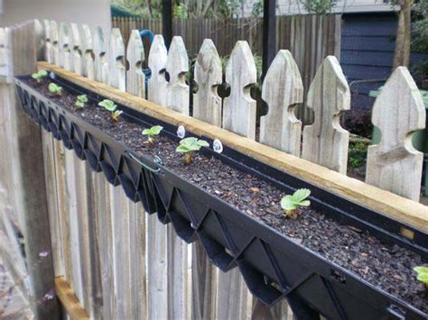 inspirational diy ways  repurpose rain gutters