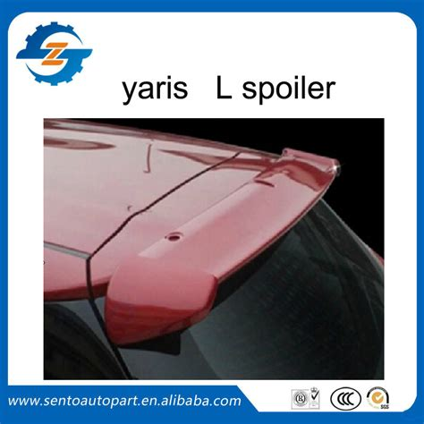 Spoiler All New Yaris 2014 With L popular toyota yaris spoiler buy cheap toyota yaris spoiler lots from china toyota yaris spoiler
