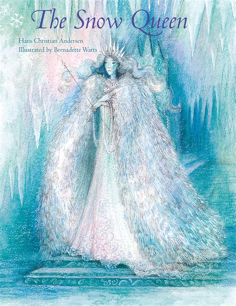 the snow picture book the snow book by hans christian andersen
