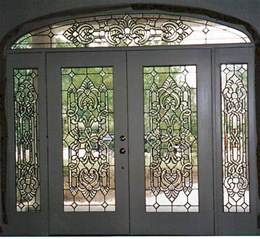 beveled glass front doors entry doors beaumont leaded glass