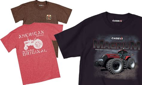 s ih tractor t shirts groupon goods