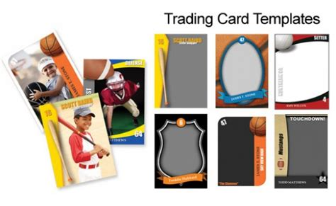 Free Trader Card Templates by 15 Psd Football Trading Card Images Baseball Trading
