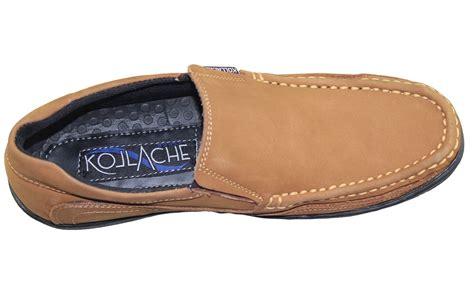 Comfort Loafers by Mens Slip On Loafers Boat Deck Mocassin Comfort Walking