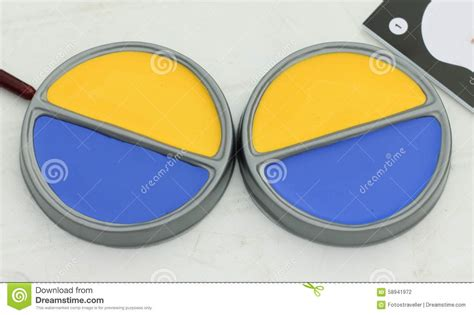 two paint colors stock photo image 58941972