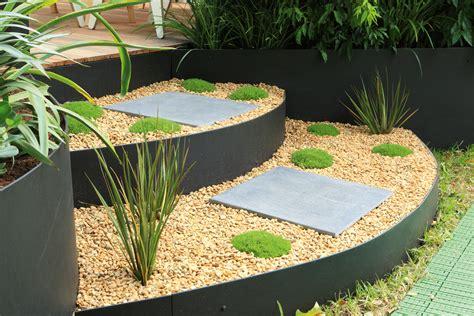 Metal Garden Edging Ideas Low Maintenance Metal Garden Edging Completehome
