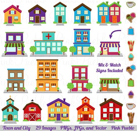 printable christmas village background city clipart clip art printable house village town clip art