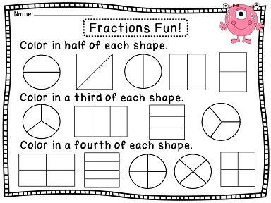 Fractions Worksheets 2nd Grade by Cvc Spelling Cards A Fractions Worksheets