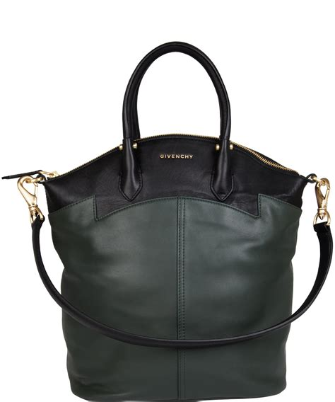 Givenchy Two Tone Purse givenchy two tone leather tote bag in black lyst