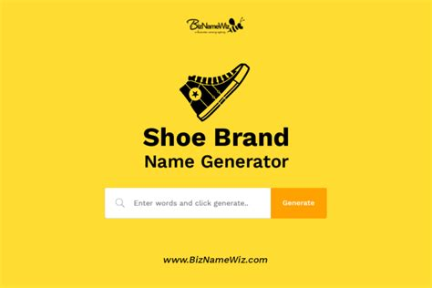 shoe brand  ideas availability check