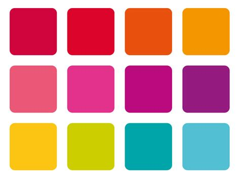 modern color palette colors uplifting bright recommended colour palette